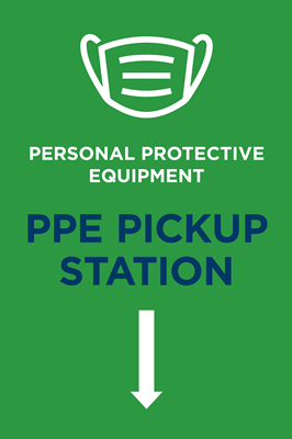 PPE PICK UP GREEN