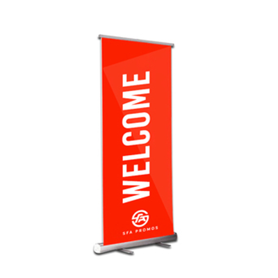 2' x 7.5' Single-Sided Indoor Banner Display
