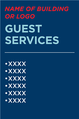 RETAIL GUEST SERVICES - EASEL