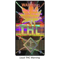 Loud THC Warning Labels
